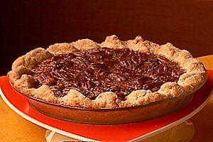 Rich Chocolate Pecan Pie