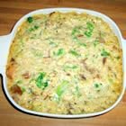 Pork-rice-n-broccoli casserole