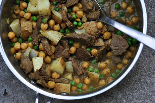 Beef and Peas