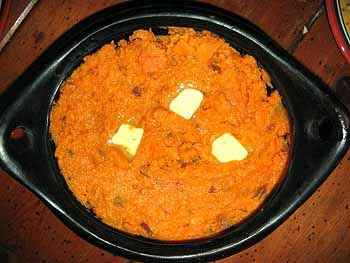 Mashed Yams and Brown Sugar