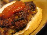 Zucchini Mushroom Burgers