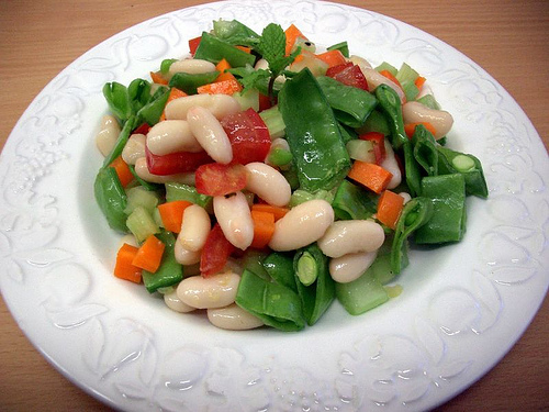 Salad, Snow Pea