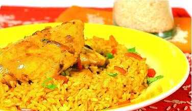Spanish Rice Chicken
