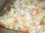 Chicken Noodle Vegetable Bake