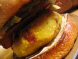 "Bakin & ""Egg"" Breakfast Burgers"