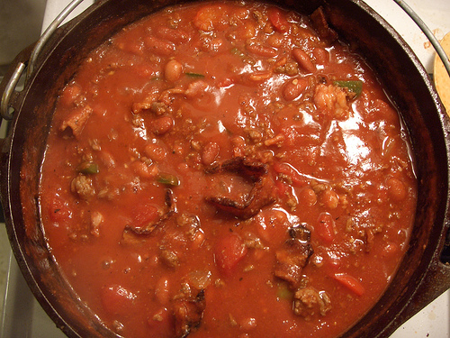 Cooking Light chili recipe