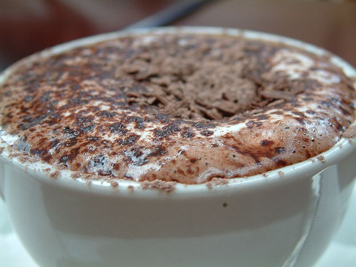 Liz's Chocolate Coffee