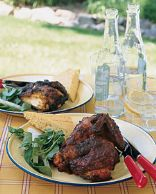 Smoky, Grilled, Butterflied Chicken