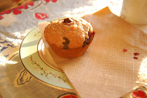 Blueberry muffins with Canola Oil