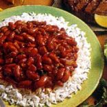 Spanish Red Beans and Rice (Clasic)