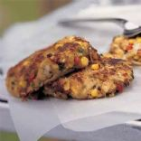 Curried Corn Crabcakes