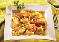 Coconut & Pineapple Shrimp