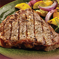Garlic Peppercorn Steak
