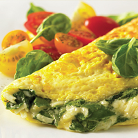 Florentine Spinach Omelet