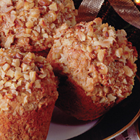 Cranberry Orange Nut Muffins
