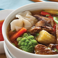 Instant Asian Beef Soup