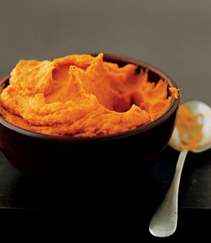 Sweet-Potato Purée with Smoked Paprika