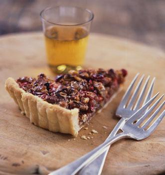 Pecan Cranberry Tart
