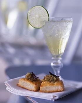 Miniature Onion Tartlets