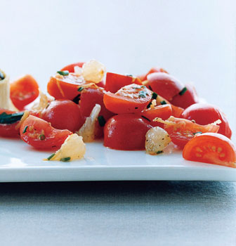 Cherry Tomato and Lemon Salad