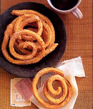 Churros (Deep Fried Dough Spirals)
