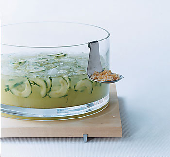 Cucumber, Ginger, and Sake Sangria