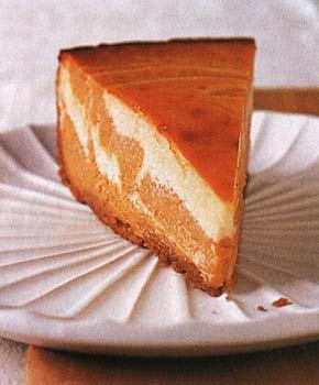 Marbled Pumpkin Cheesecake