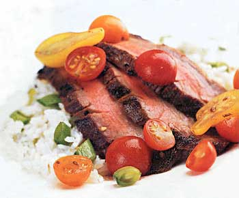 Grilled Spice-Rubbed Flank Steak