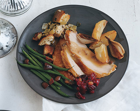 Extra-Moist Turkey with Pan Gravy