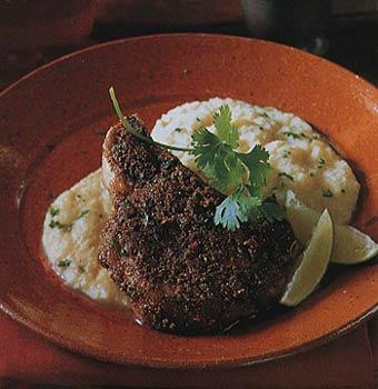 Pork Chops Coriander-Cumin Spice Rub