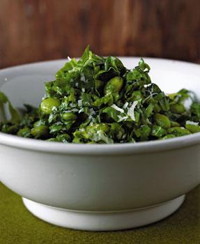 Escarole and Edamame Salad