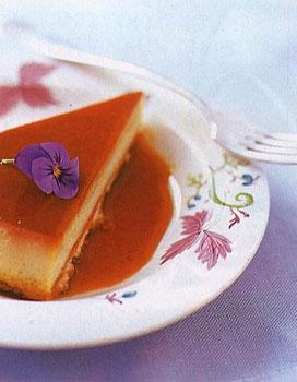 Lavender Crème-Caramel Tart