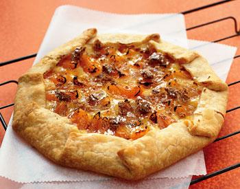 Almond, Apricot, and Cream Cheese Crostata
