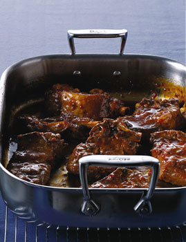 Orange-Soy-Braised Pork Ribs