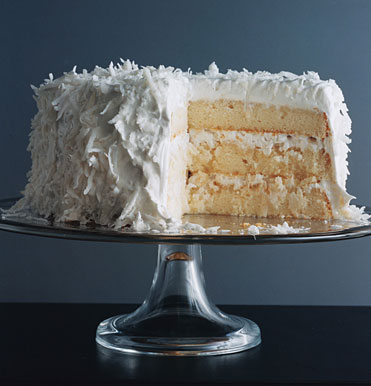 Fresh Coconut Layer Cake