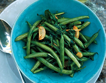 Green Beans and Arugula