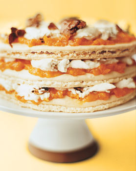 Apricot Almond Layer Cake