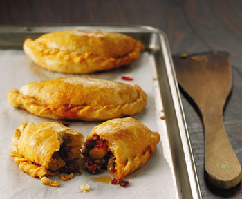 Potato, Pepper, and Chorizo Empañadas