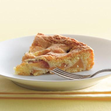 Nectarine Golden Cake