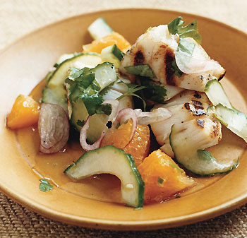 "Grilled Scallop ""Ceviche"""