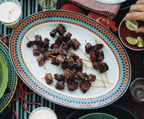 Grilled Beef Brochettes (Anticuchos de Lomo)