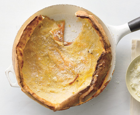 Dutch Baby with Lemon Sugar