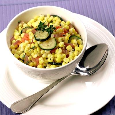 Zucchini-Corn Sauté