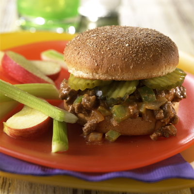 Sloppy Beef Burgers