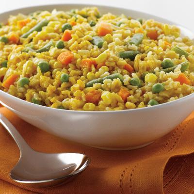 Pumpkin Confetti Rice
