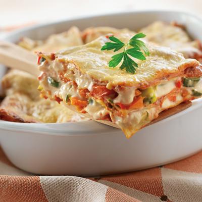 Creamy Vegetable Lasagna