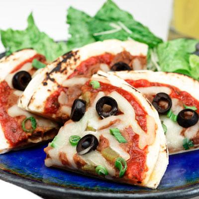 Quesadilla Pizzas