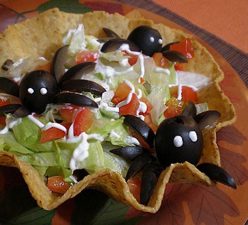 Tarantula Tostadas (Or Tacos)