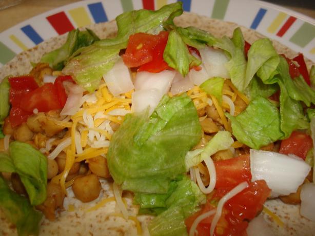 Garbanzo Tacos