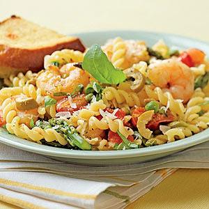 Gemelli Primavera with Shrimp